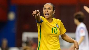 Marta Scores Record 15th World Cup Goal in Brazil Win