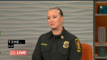 Firefighter Reflects on Her Golden Globes Moment