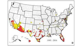 New Map Shows Where Zika Mosquitoes Live in US