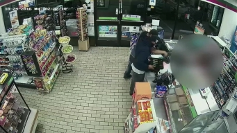 Surveillance Video: Men Wanted in Connection with Series of Robberies