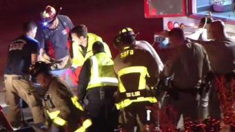 Caltrans Worker Falls From Bridge