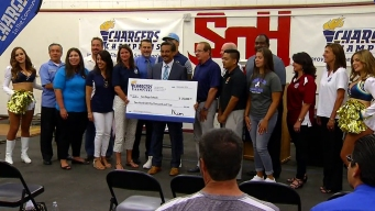 10 Schools to Receive Funds from San Diego Chargers Grant