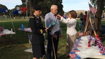 WWII Vet Receives Bronze Star in San Diego