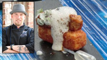 Chef Daniel Barron Blue Point Coastal Cuisine Chef of the Fest