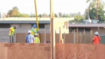 Concrete Pour at Granite Hills High School