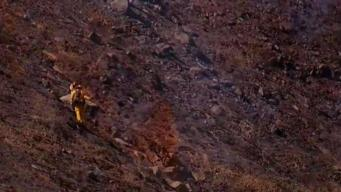 Crews Putting Out Hot Spots After 20-Acre Fire