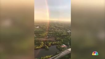 Full Circle Rainbow Over DC Kicks Off Memorial Day Weekend