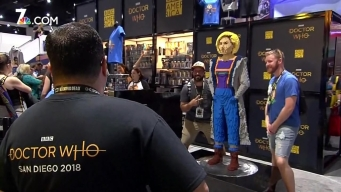 Doctor Who Fans Turn Up at San Diego Comic-Con 2018