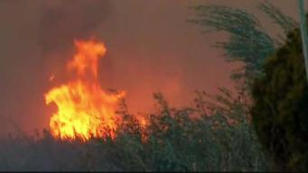 In a Brush Fire, What Does 'Containment' Actually Mean?