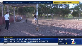Debate Continues Over Normal Heights Dog Park