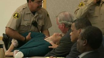 Defendant Collapses Upon Hearing Guilty Verdict
