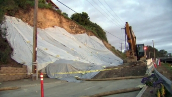Bluff Collapse Closes Main Road to San Diego County Fair