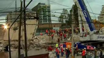 Devastation in Mexico City Continues