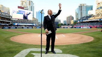 Petco Park Honors Hall of Fame Broadcaster