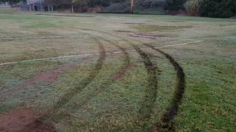 Soccer Fields Vandalized at Discovery Park