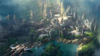 "Image Released of Disneyland ""Star Wars"" Land"