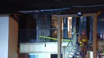 Dozens Displaced in Clairemont Apartment Complex Fire