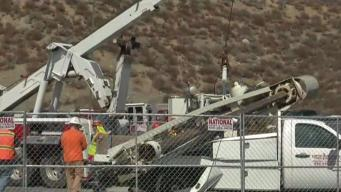 Drilling Rig Pins Operator Underneath in Spring Valley