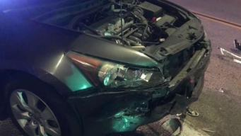 Driver Runs Into Uber Mid-Ride While Fleeing Police