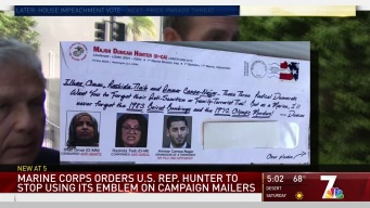 USMC Wants Rep. Duncan Hunter to Stop Using Logo on Mailers