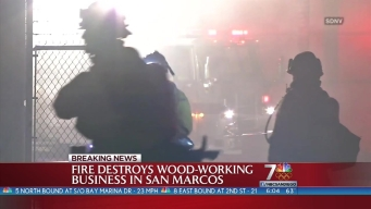 San Marcos Business Damaged by Fire