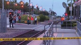 Train Strikes Pedestrian in Encinitas