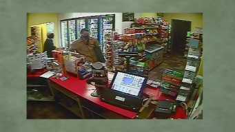 Surveillance Video: Men Rob Encinitas Gas Station
