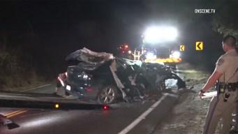 Passenger Killed in Suspected DUI Crash in Escondido