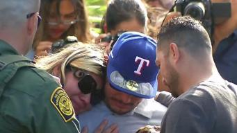 Families Separated by Border Reunited Briefly