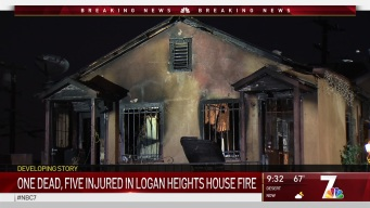Family of Six Injured in Logan Heights House Fire