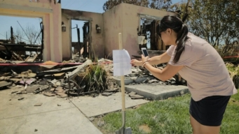Letter of Hope Left at Home Destroyed by Fire