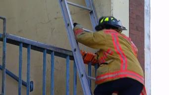 Fire Department Hosts Cadet Training Near Liberty Station