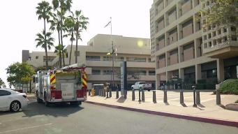 Fire at Balboa Naval Medical Center Injures 4