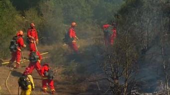 Firefighters Prep for Dangerous Fire Conditions