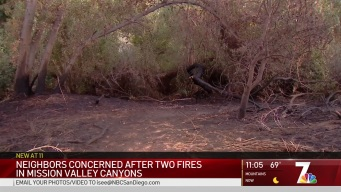 Fires in Riverbed Awaken Fears of Homeless Camp Fires