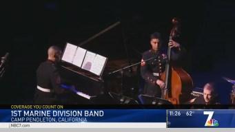 Camp Pendleton's 1st Marine Division Band Jams
