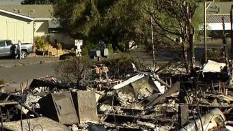 Flames Ripped Apart Mobile Home Park in Fallbrook