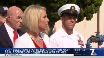 Jury Selection Will Start for Navy Seal Accused of War Crimes