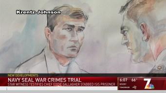 Star Witness Testifies in Navy SEAL War Crimes Trial