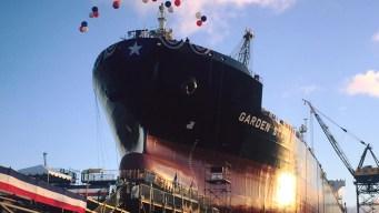 General Dynamics NASSCO Christens Tanker