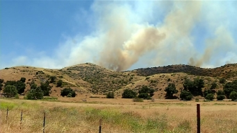 Fast-Moving Gate Fire Scorches 800 Acres