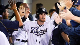 Padres Shut Out Rangers