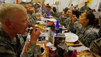 Troops Are Getting a Lot More Thanksgiving Food This Year