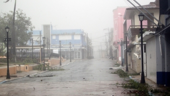 Hurricane Maria Moves Into Open Waters