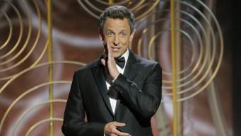 Seth Meyers' Golden Globes Juggling Act
