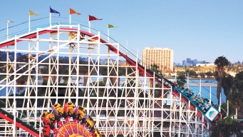 San Diego's Giant Dipper Roller Coaster Turns 94