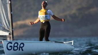 Great Scott: Emotional Brit Wins Finn Olympic Sailing Gold