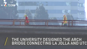 Gilman Drive Bridge Over I-5 Unveiled