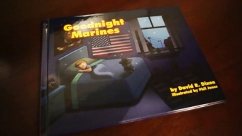US Marine Pens Children's Book for Military Families