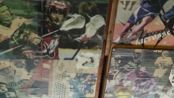 San Diegan Builds Lacrosse Shrine in His Garage
